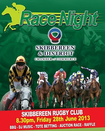 Race Night website