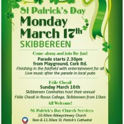 St Patrick's Poster