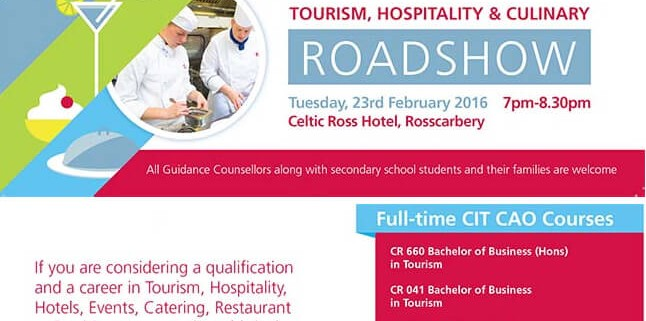 Tourism Hospitality Culinary Roadshow Feb 2016