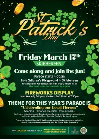 St Patrick's Day Poster 2017
