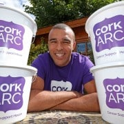 """Ahead of Cork ARC Cancer Support House's 2017 Flag Day Collections in Cork City and County, their patron Simon Zebo calls on the people of Cork their generosity for the well know cancer support charity."" Picture: Jim Coughlan."