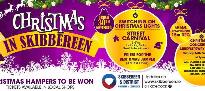 Shop Local and discover all there is to see and do in Skibbereen this Christmas